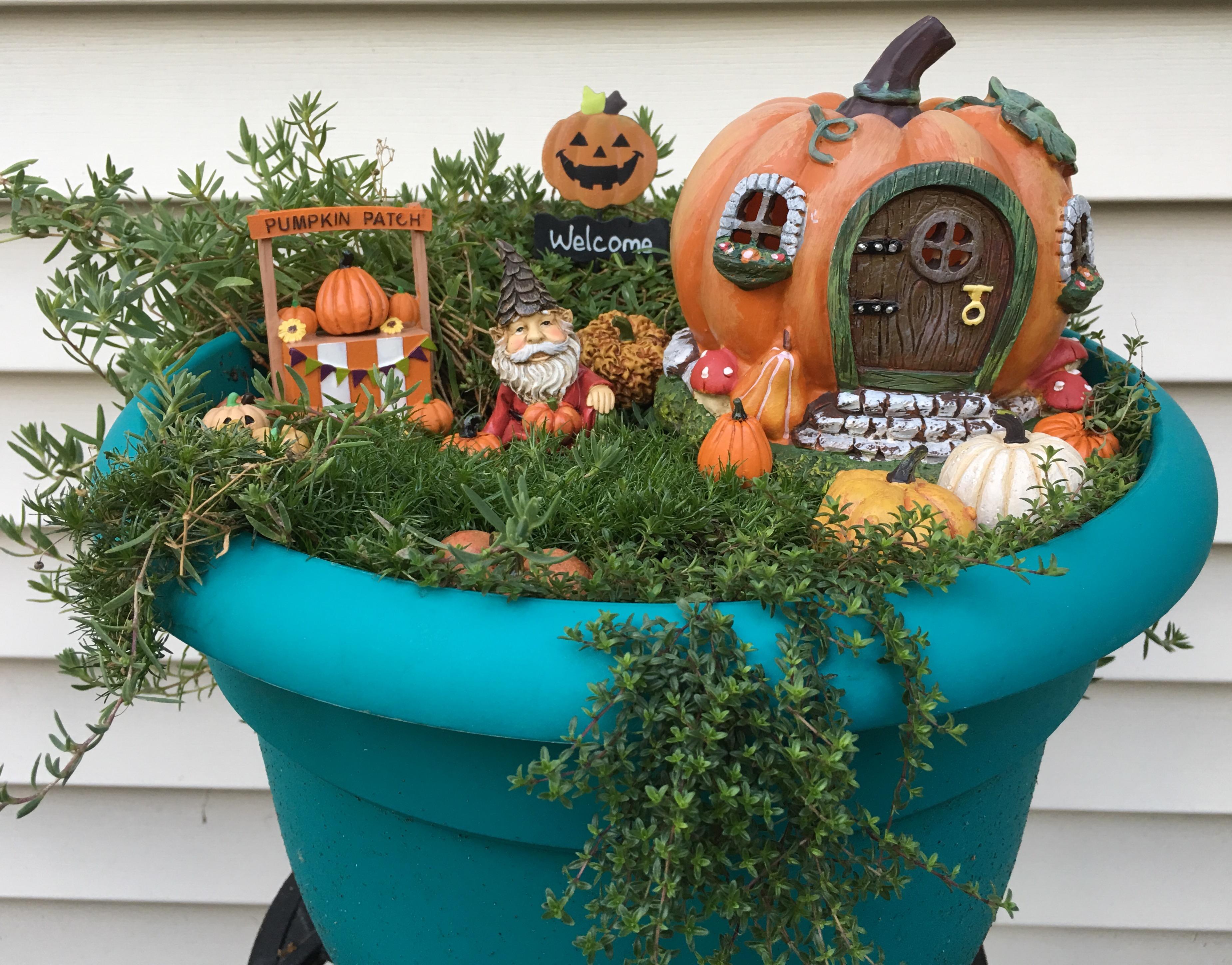 Festive for Fall: Fairy Garden Seasonal Makeovers – Gnome Decor